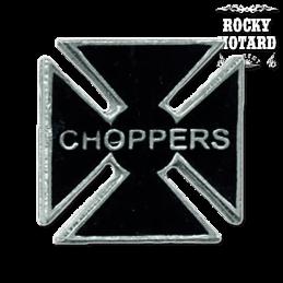 Pin MCS Choppers Maltese Cross